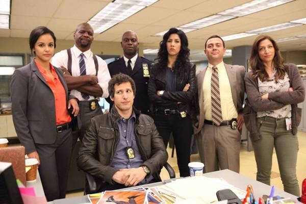 Nada de tensão: em Brooklyn nine-nine, os policiais levam o público às risadas  (TBS/Divulgação)