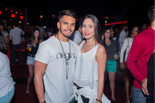Samir Félix e Natália Cavalcanti (Romulo Juracy/Esp. CB/D.A Press)