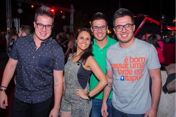 Daniel Augusto, Paloma Nunes, Marcos e Renato Gurgel (Romulo Juracy/Esp. CB/D.A Press)