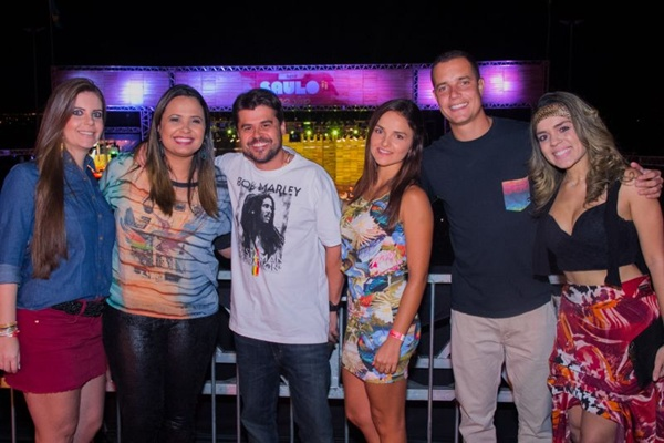 Vanessa Diniz, Adriana Samartini, Talmo Tavares, Maria Nogueira, Elber Nogueira e Wanessa Gusmão (Romulo Juracy/Esp. CB/D.A Press)