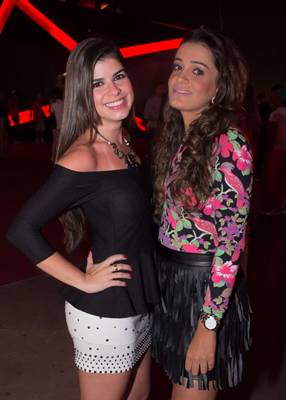 Laura Coelho e Erica Souza (Romulo Juracy/Esp. CB/D.A Press)