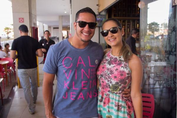 Bruno e Paloma Alves  (Romulo Juracy/Esp. CB/D.A Press)