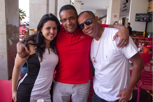 Giovana Faria, Fábio Eduardo e Gilson Pereira (Romulo Juracy/Esp. CB/D.A Press)