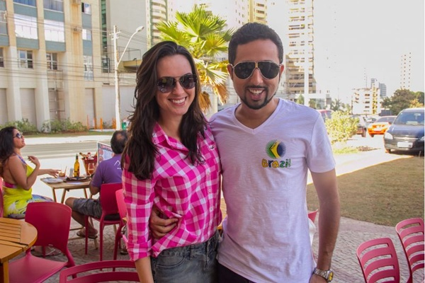 Sabrina Louzada e Thiago Lopes (Romulo Juracy/Esp. CB/D.A Press)