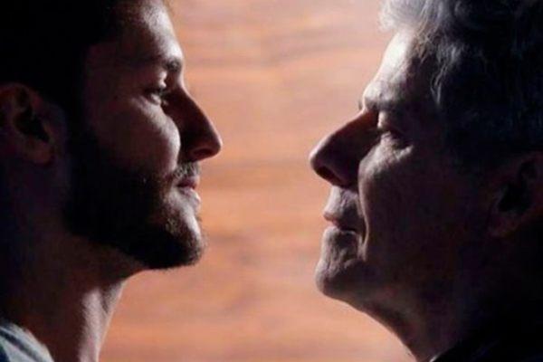 Beijo gay entre os personagens de José Mayer e Klebber Toledo já foi gravada (Reprodução)