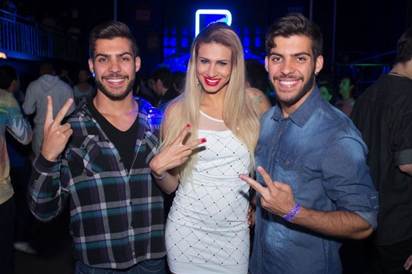 Matheus Garrido, Liza Rodriguez e Lucas Garrido (Romulo Juracy/Esp. CB/D.A Press)
