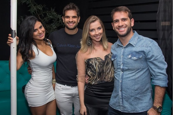 Michele Prado, Rodrigo, Marina Guedes e Renato (Romulo Juracy/Esp. CB/D.A Press)