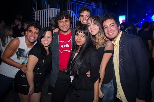 Pedro, Luciana, Vitor, Larissa, Rafael Costa, Bruna Evelin e Luis Gustavo (Romulo Juracy/Esp. CB/D.A Press)