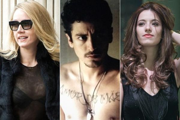 Na sequência os personagens Angelica, Alain e Mirna de O Rebu  (TV Globo/Divulgação)