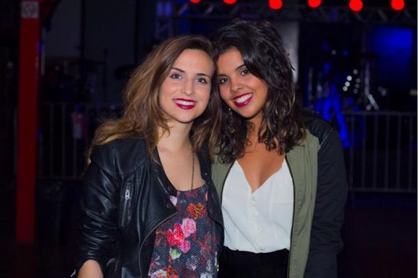 Luiza Mesquita e Thayná Moura (Romulo Juracy/Esp. CB/D.A Press)