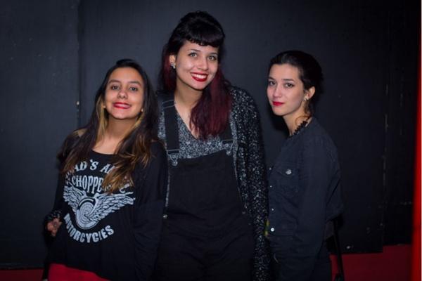 Bianca Moura, Amanda Dante e Elis Uchoa (Romulo Juracy/Esp. CB/D.A Press)