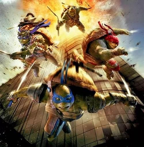 A versão cinematográfica das Tartarugas Ninja será lançada nos Estados Unidos em 8 de agosto (Reprodução/Twitter)