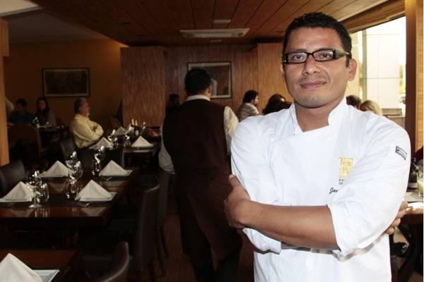 Se não fosse chef, Carlos Yepez seria professor de dança   (Ana Rayssa/Esp. CB/D.A Press)