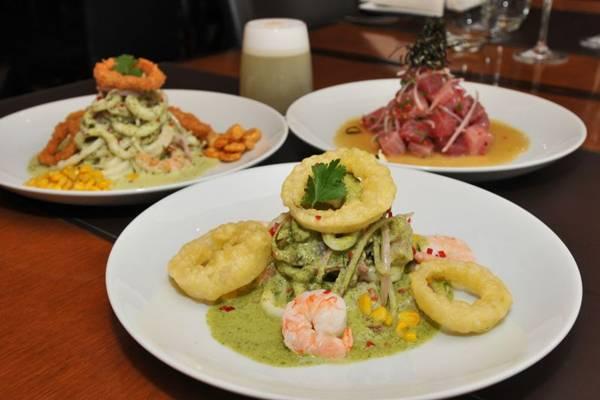 O ceviche de atum é um clássico no menu do Taypá (Breno Fortes/CB/D.A Press)