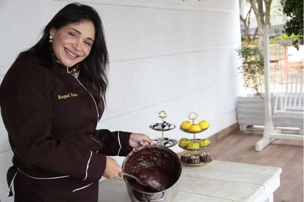 Raquel Ramos recomenda chocolate meio amargo na receita de brigadeiro (Ana Rayssa/Esp. CB/D.A Press)