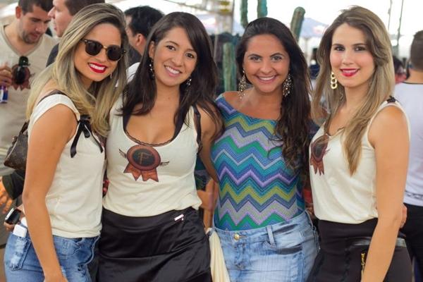 Eloila Menezes, Cecília de Souza, Camila França e Samara ( Romulo Juracy/Esp. CB/D.A Press)