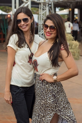 Cinthia Domingues e Rayane Gomez ( Romulo Juracy/Esp. CB/D.A Press)