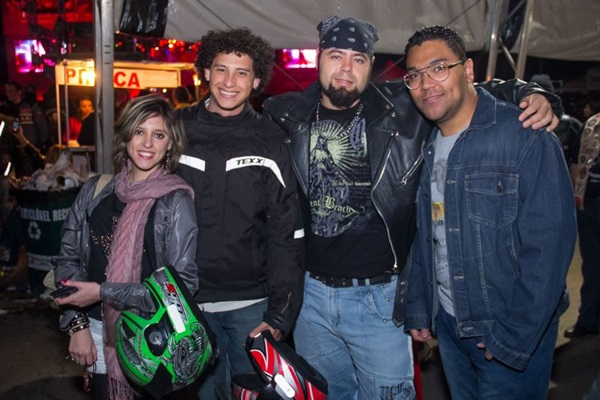 Amanda Cruz, Luis Fernando Monteiro, Daivid Teles e Ricardo Oliveira (Romulo Juracy/Esp. CB/D.A Press)