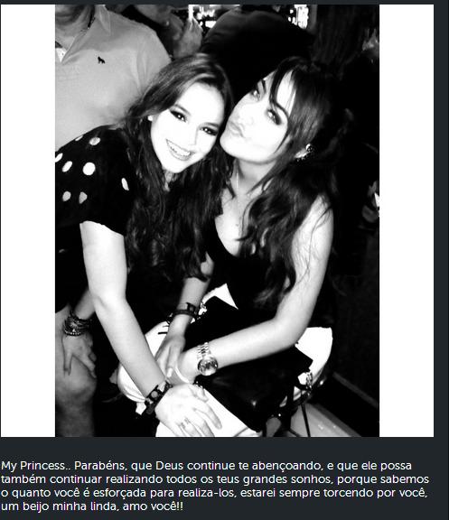 Bruna Marquezine e Rafaella Santos  (Reprodução/ Instagram)