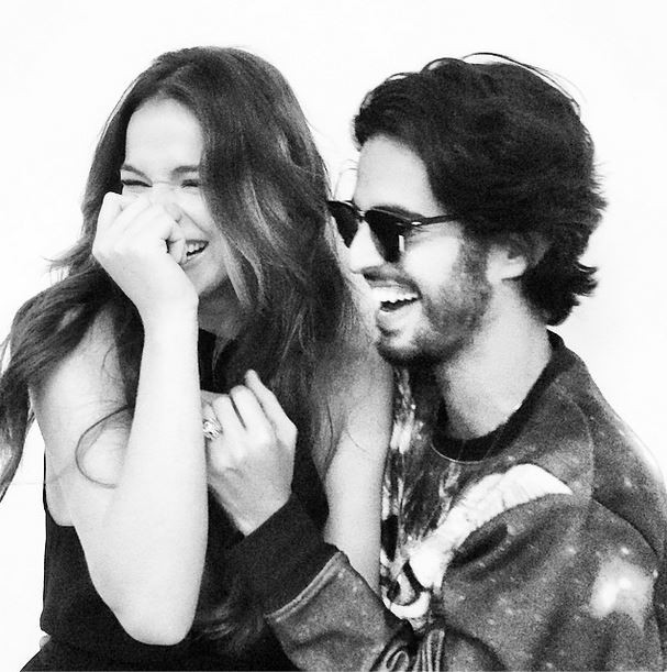 Bruna Marquezine e André Nicolau (Reprodução/ Instagram)