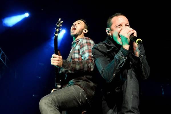 Linkin Park, atração do Circuito Banco do Brasil ( Ethan Miller/Getty Images/AFP)