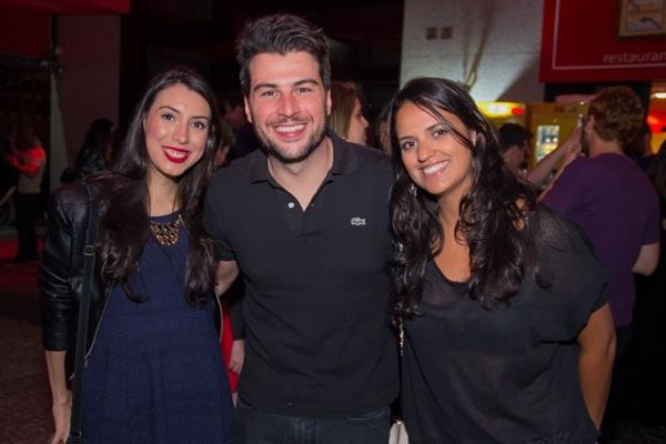 Luisa Trindade, Felipe Baére e Natália Arruda (Romulo Juracy/Esp. CB/D.A Press)
