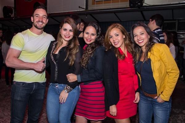 Alexandre Ferreira, Phâmella Oliveira, Priscila Magali, Marcela Randeros e Bárbara (Romulo Juracy/Esp. CB/D.A Press)