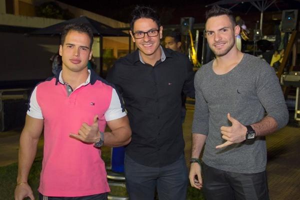 Thiago Paschoal, Marcelo Miranda e Felippe Costa (Romulo Juracy/Esp. CB/D.A Press)
