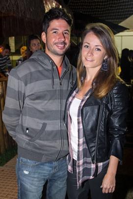 Cauê Campos e Andréa Garcia (Romulo Juracy/Esp. CB/D.A Press)