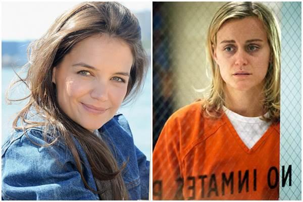 Apesar de ter recusado o convite, Kate disse que era uma grande fã da série ( Jamie McCarthy/Getty Images/AFP, Netflix/ Divulgação)