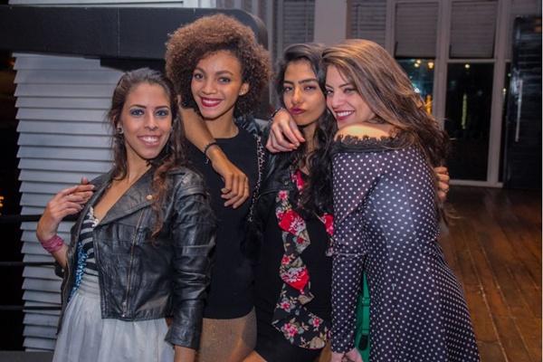 Raíssa Azeredo, Liz Viena, Nathália Saraiva e Luiza Nobre (Romulo Juracy/Esp. CB/D.A Press)