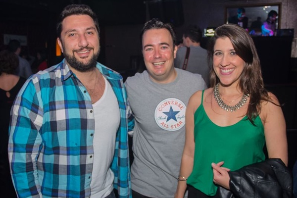 André Haui, João Paulo e Bárbara Costa (Romulo Juracy/Esp. CB/D.A Press)