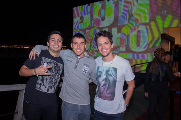 João Lucas Rabello, Matheus Maia e Gabriel Araújo (Romulo Juracy/Esp. CB/D.A Press)