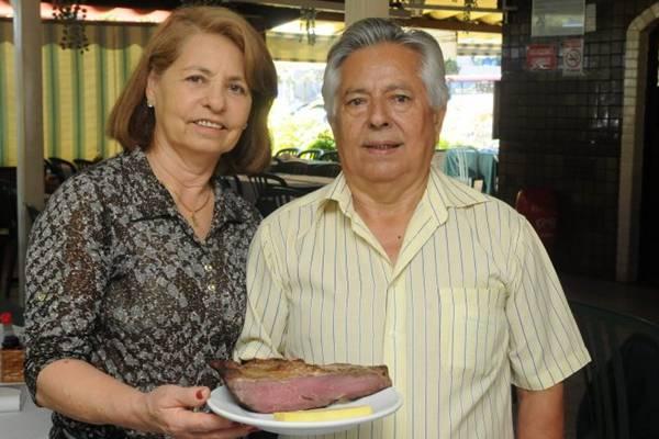 Irani e Vicente de Sousa, proprietários do Feijão Verde  (Antonio Cunha/CB/D.A Press)