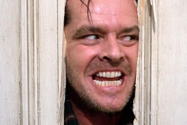O ator Jack Nicholson tem atuação histórica em O iluminado  (Warner Bros./Divulgação)