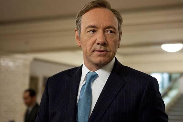 Kevin Spacey como Frank Underwood, em 'House of cards' ( Netflix/Divulgação)