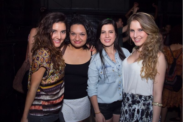 Ana Carolina Coelho, Raquel Madureira, Carolina Moura e Julia Esteves (Romulo Juracy/Esp. CB/D.A Press)