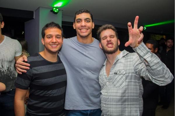 Matheus Amaral, André Marinho e Bruno Porto (Romulo Juracy/Esp. CB/D.A Press)