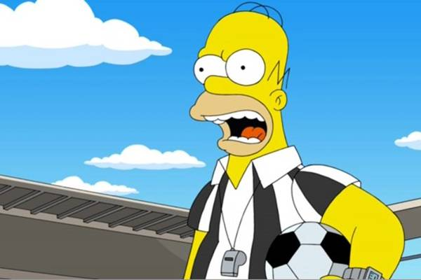 Os pais figuras Homer Simpson e Peter Griffin em episódio crossover de Uma família da pesada  (Fox/Divulgação)