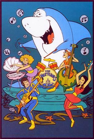 A trupe passava boa parte do tempo se dedicando à banda Os Netunos (Hanna-Barbera/Reprodução)