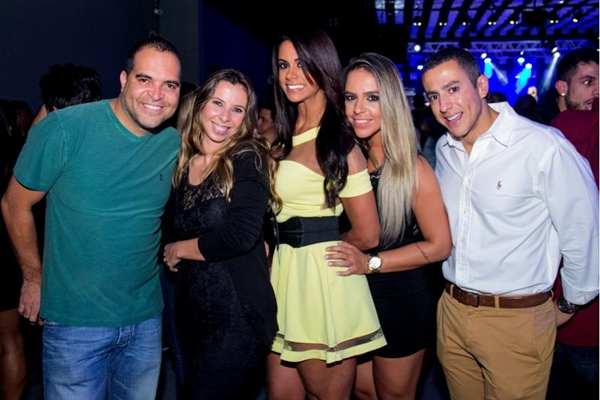 Alessandro, Lindsay, Cynthil, Aline  e Bruno (Romulo Juracy/Esp. CB/D.A Press)