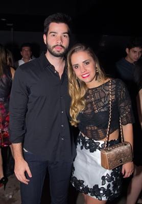 Diogo Assis e Ingrid Caetano  (Romulo Juracy/Esp. CB/D.A Press)