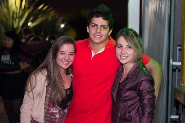 Karoline de Melo, Pedro Ramos e Larissa Barros (Romulo Juracy/Esp. CB/D.A Press)