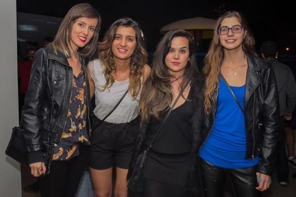 Marcela Carvalho, Aisha Allagui, Natália Pacheco e Amanda de Castro (Rômulo Juracy/Esp. CB/D.A Press)