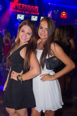 Laila Junqueira e Camila Mignon (Romulo Juracy/Esp. CB/D.A Press)