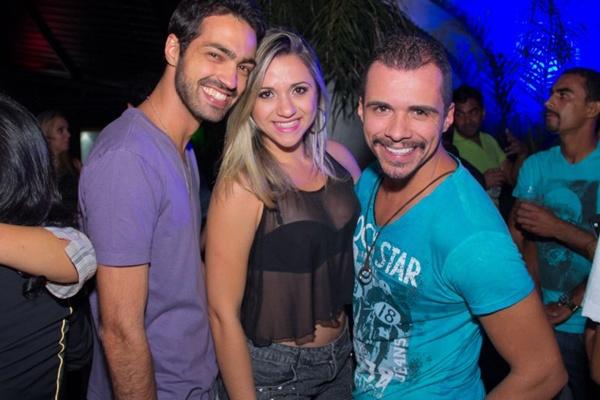 Pedro Mustefaga, Juliana Ferreira e Leandro Quirino (Romulo Juracy/Esp. CB/D.A Press)