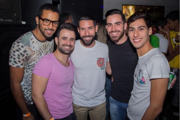 Thiago Rodrigues, Rodrigo Rodrigues, Breno Abreu, Erick Lamonier e Pedro Aires (Romulo Juracy/Esp. CB/D.A Press)