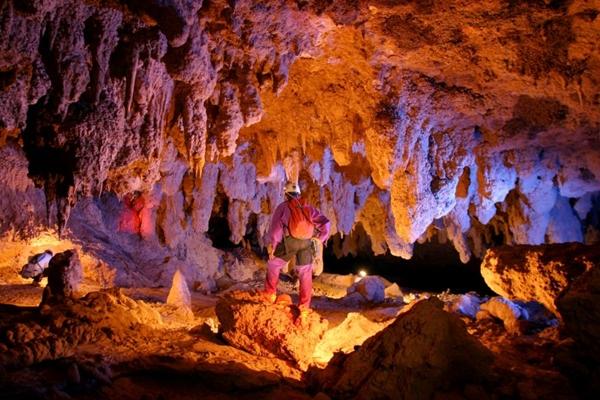 Terra Ronca é um paraíso misterioso e envolvente para quem gosta de explorar cavernas (Edmar Gonçalves/Divulgação)
