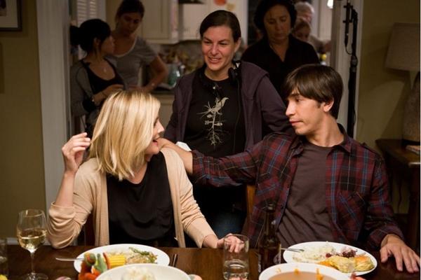 Atores Drew Barrymore e Justin Long, de Amor à distância (Jessica Miglio/Warner Bros)