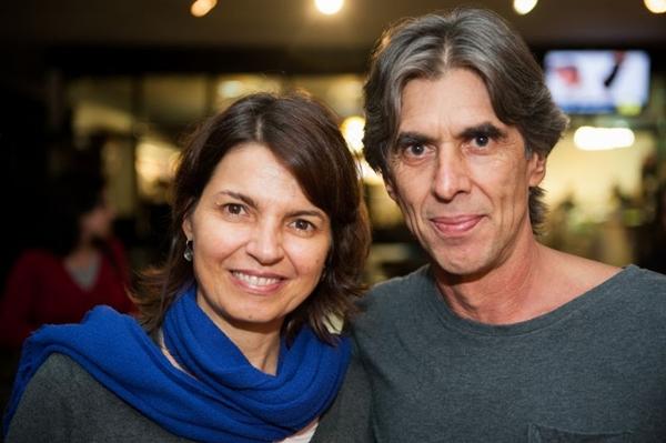 Guilherme Reis e a esposa Carmem Moretzsohn (Luis Xavier de França/Esp. CB/D.A Press)